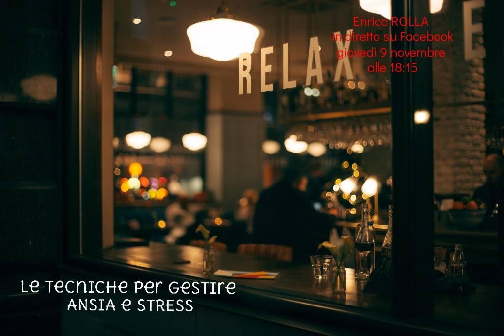 Tecniche per gestire ansia e stress