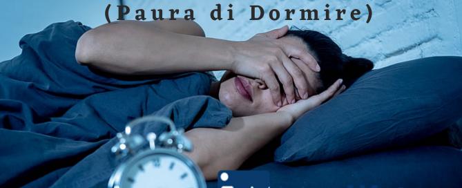 superare paura di dormire