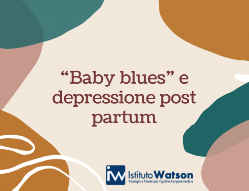 """Baby blues"" e depressione post partum"